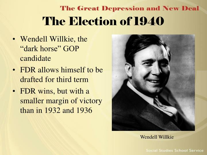 The Election of 1940