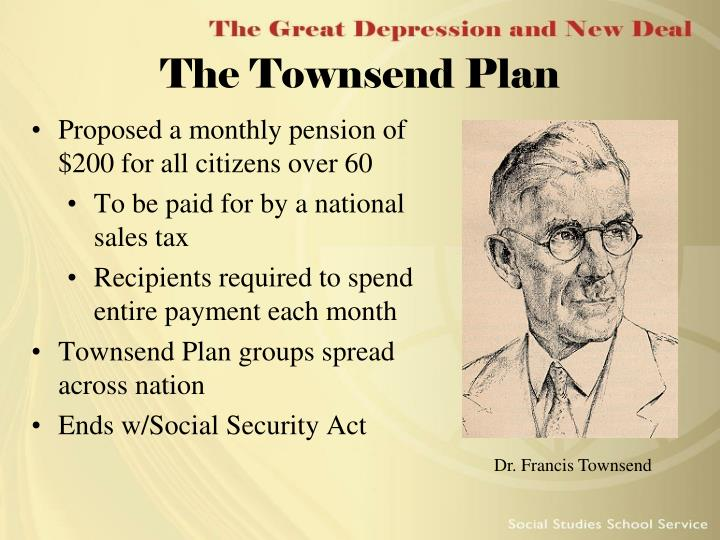 The Townsend Plan