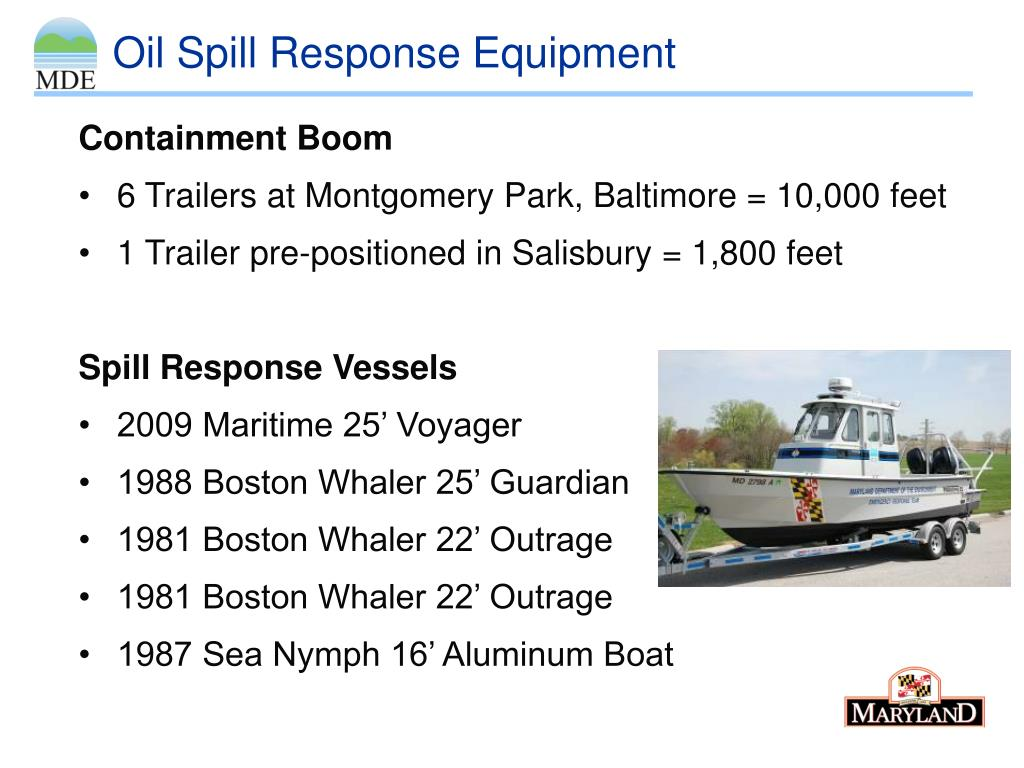 PPT - Oil Spill Response Capabilities PowerPoint