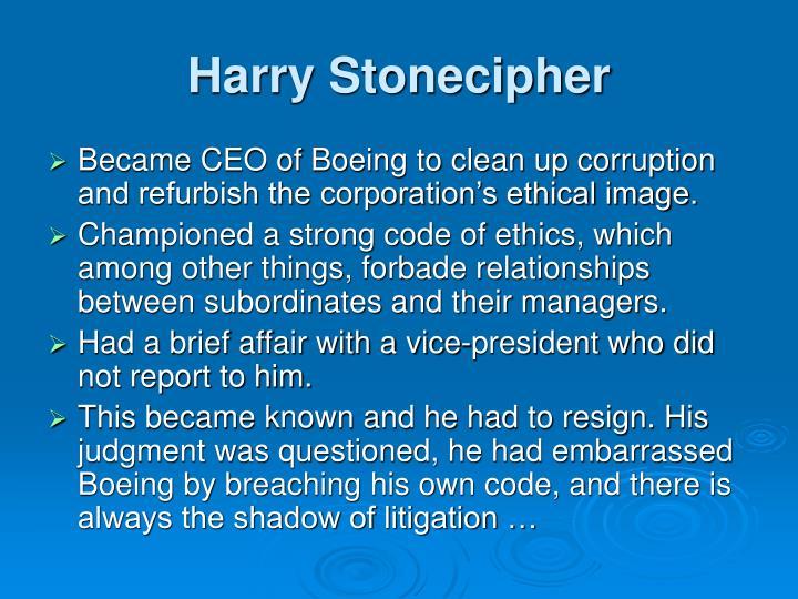 Harry Stonecipher