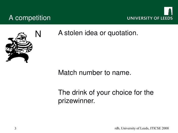 A competition