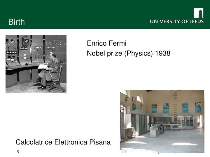 Calcolatrice Elettronica Pisana