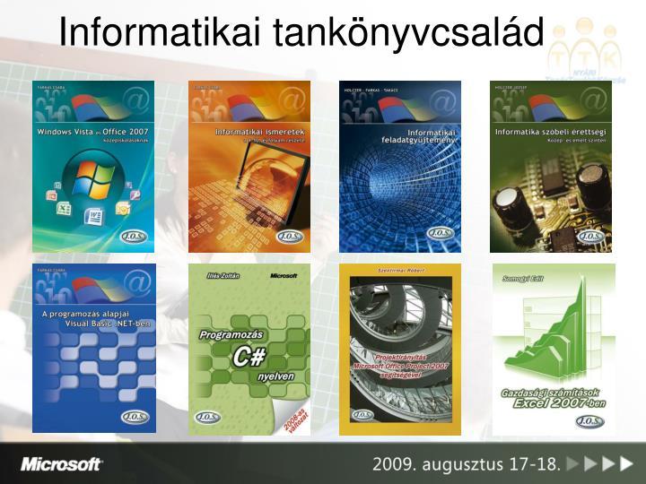 Informatikai tankönyvcsalád