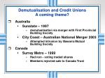demutualisation and credit unions a coming theme