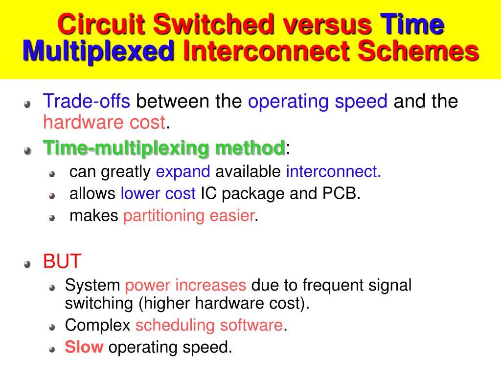Circuit Switched versus