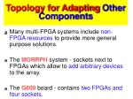 topology for adapting other components