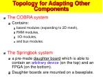 topology for adapting other components57