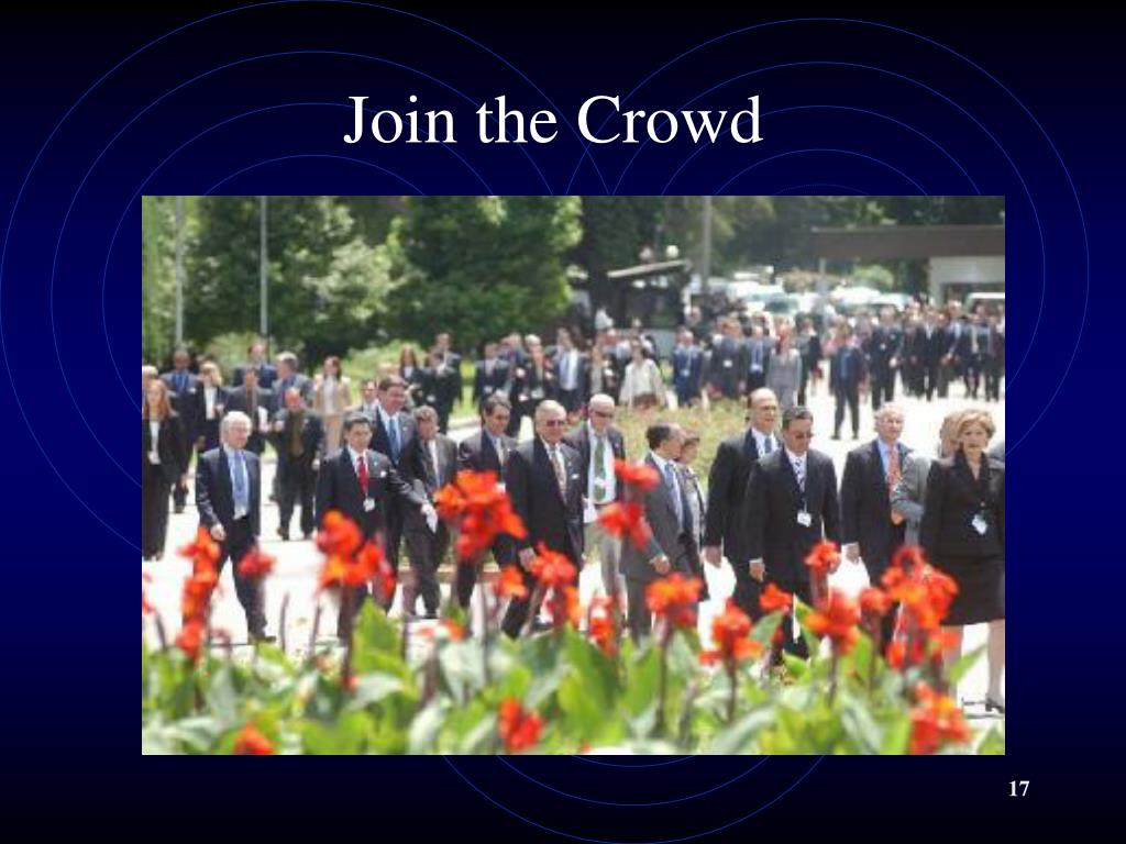 Join the Crowd