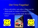 old time flagellas