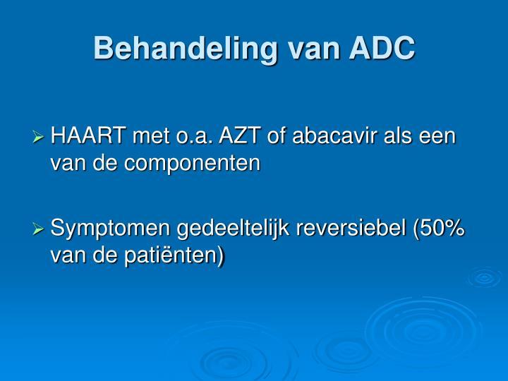 Behandeling van ADC