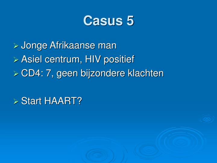 Casus 5