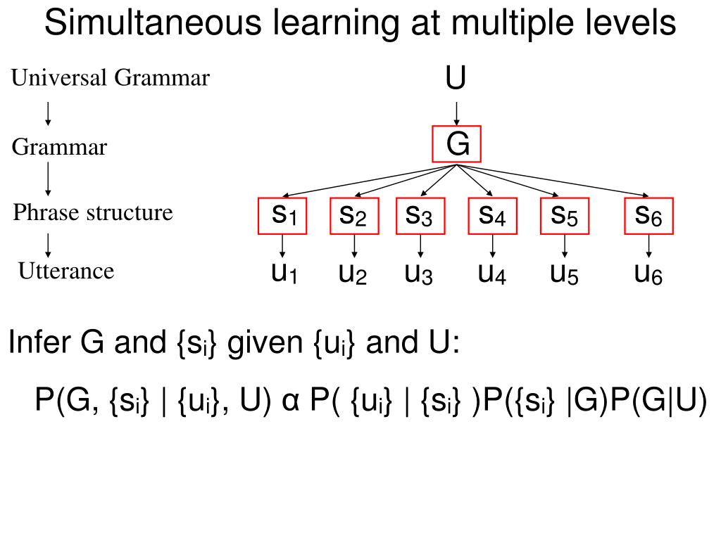 Simultaneous learning at multiple levels