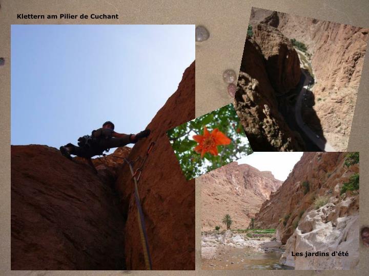 Klettern am Pilier de Cuchant