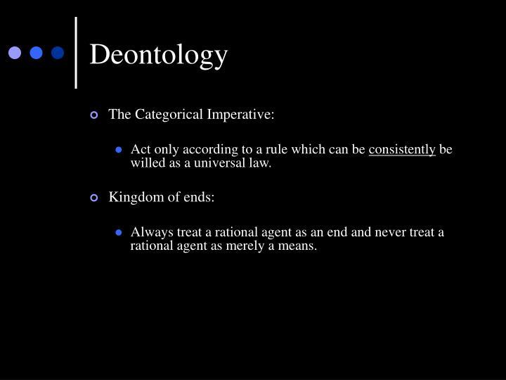 Deontology