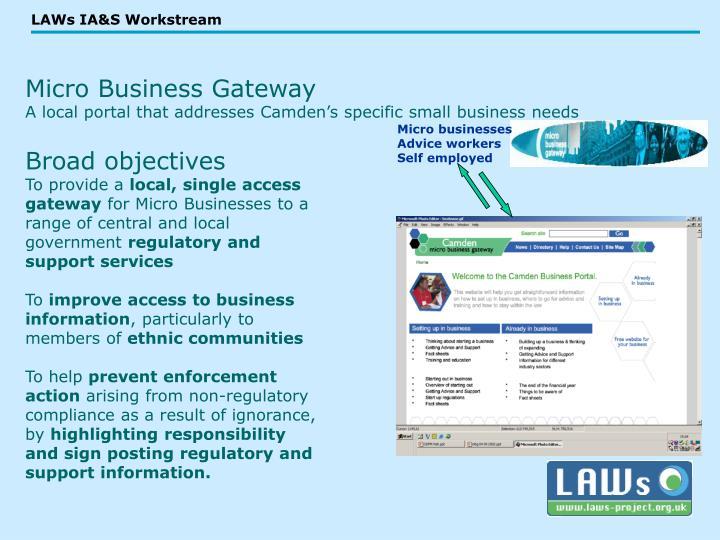 Micro Business Gateway