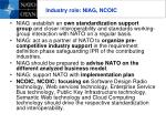 industry role niag ncoic