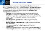 interoperability policy analysis
