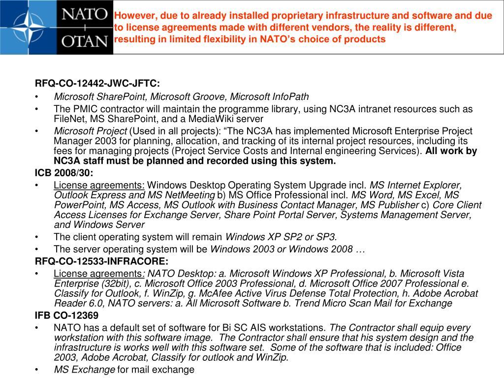 RFQ-CO-12442-JWC-JFTC: