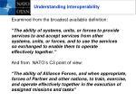 understanding interoperability