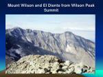 mount wilson and el diente from wilson peak summit