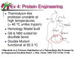 ex 4 protein engineering