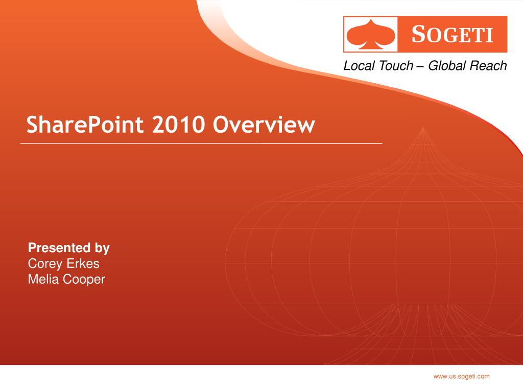 sharepoint 2010 overview l.