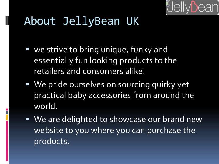 About jellybean uk