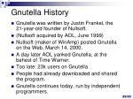 gnutella history