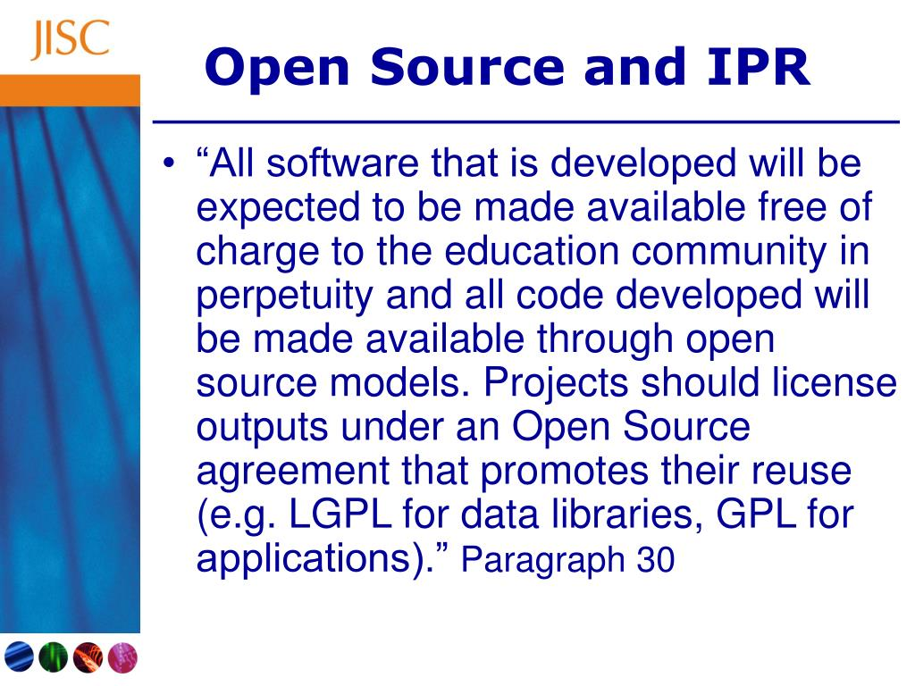 Open Source and IPR