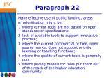 paragraph 22