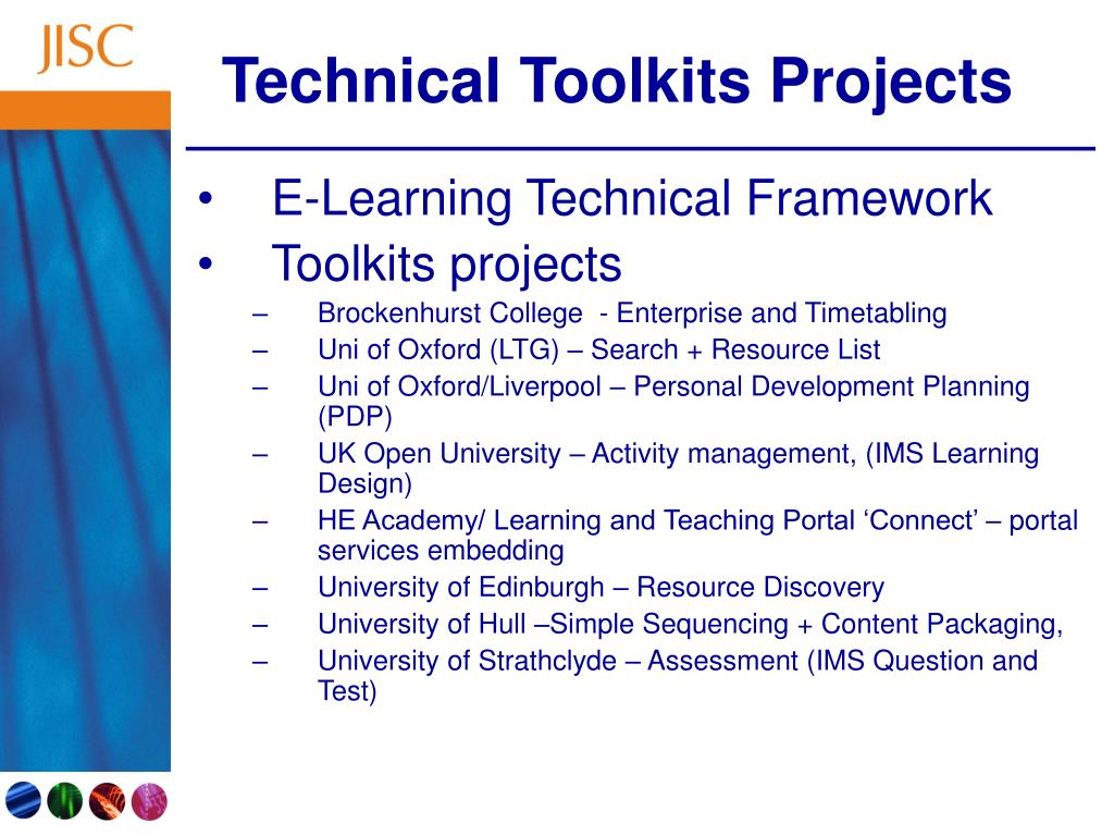 Technical Toolkits Projects