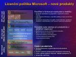 licen n politika microsoft nov produkty24