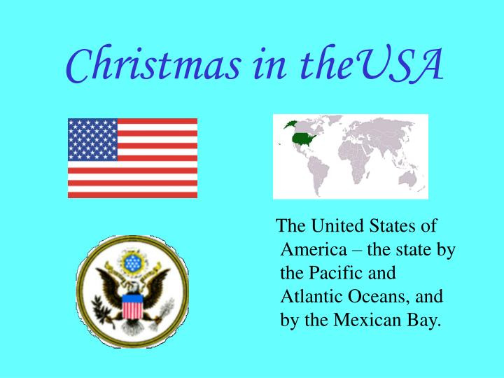 christmas in theusa n.