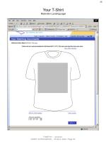 your t shirt retention landing page