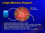 large memory support
