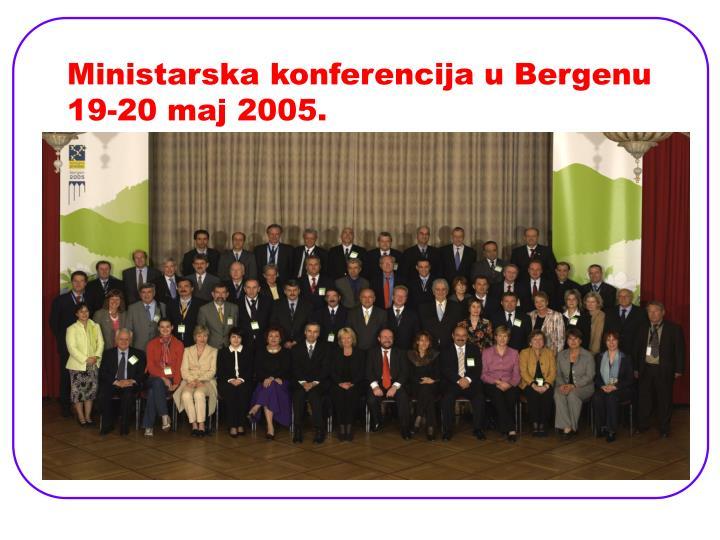 Ministarska konferencija u Bergenu