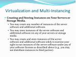 virtualization and multi instancing16