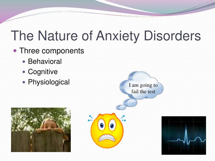 The Nature of Anxiety Disorders