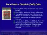 data feeds dispatch cad calls
