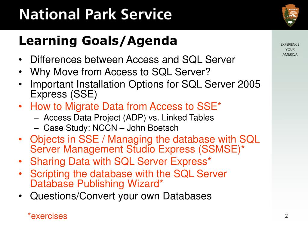 Differences between Access and SQL Server