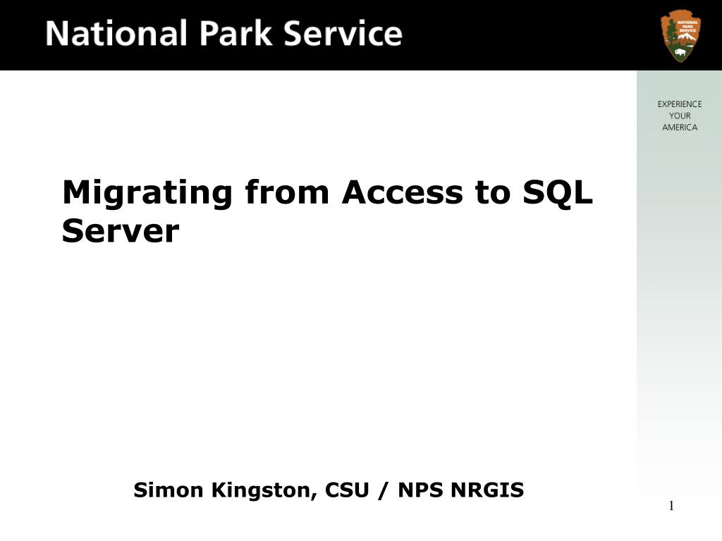 migrating from access to sql server l.