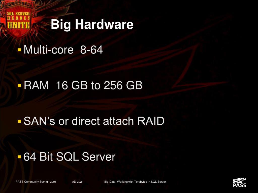 Big Hardware