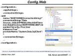 config web