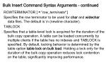 bulk insert command syntax arguments continued13