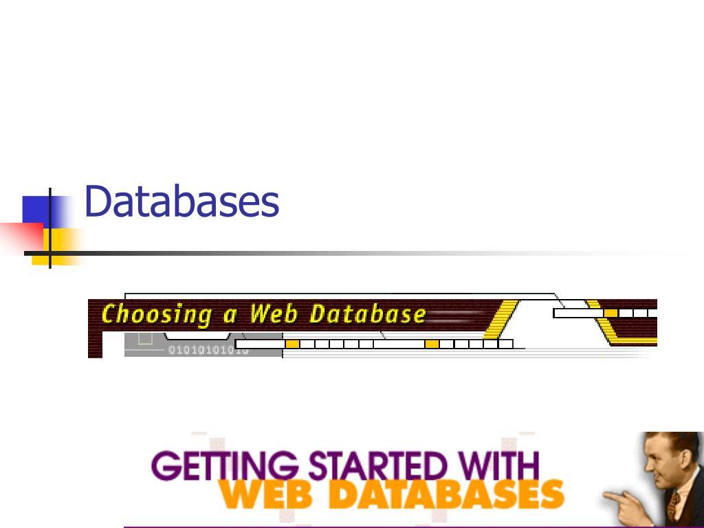 databases l.