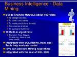 business intelligence data mining