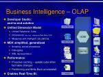 business intelligence olap