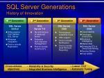 sql server generations history of innovation15