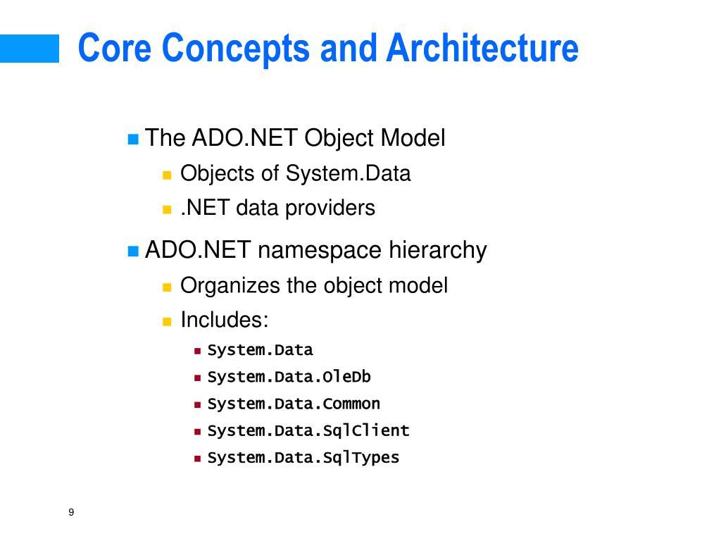 Core Concepts and Architecture