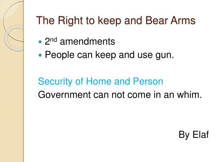 government arms essay